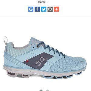 On Cloudcruisers Running Shoes Sneakers Aqua Moon